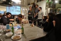 Prensentazione presso il Bar Lento di Rimini, ospiti dell'associazione Karibuni onlus_8 Gennaio 2017